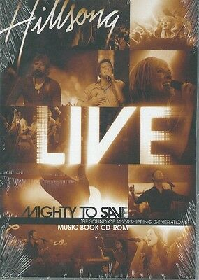 Hillsong -Mighty To Save - Music Book CD-Rom