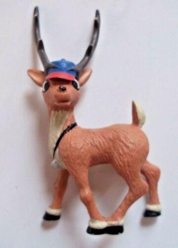 Coach COMET REINDEER Plastic PVC Figure Rudolph Misfit Toys PLAYING MANTIS