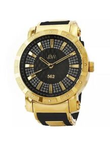 New JBW Gold & Diamond Mens Watch
