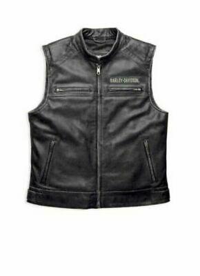 Harley-Davidson Men/'s Henley S//S Black 3 Button Shirt B/&S Flame XL