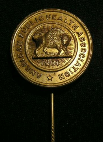 RARE 1901 APHA AMERICAN PUBLIC HEALTH ASSOCIATION STICK PIN - BUFFALO NY - NICE!