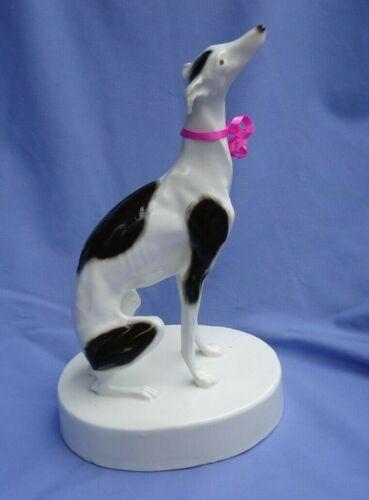 """1950 ITALIAN GREYHOUND WHIPPET GOLDSCHEIDER AUSTRIA 10"""" dog"""