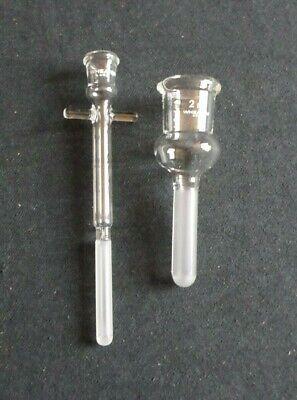 Wheaton Glass 2ml Tenbroeck Tissue Grinder Pestle Tube Mortar 357422
