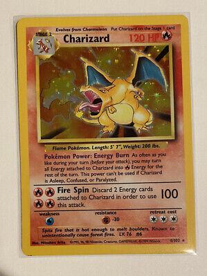1999 Pokemon Charizard 4/102 Base Set Holo WOTC - NM/Mint - Beautiful - High PSA