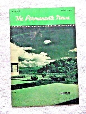 Vintage Publication Kaiser Permanente News Metals Bowling Team San Jose Ca 1945