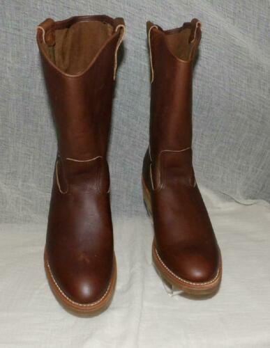 RED WING PECOS ORIG VTG NEW OLD NOS COWBOY WESTERN WORK BOOTS SHOES W BOX #1155