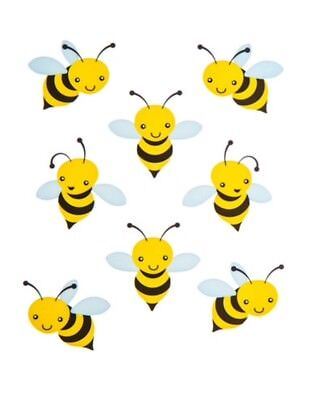 Bumblebee Bee Insect Scrapbook Stickers - Insect Crafts