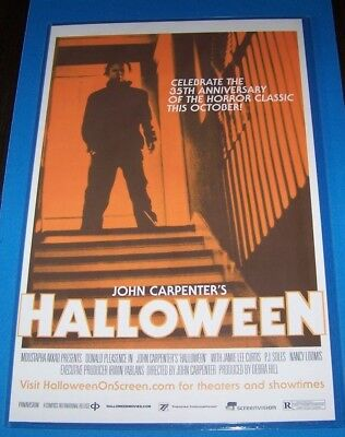 Halloween 35th Anniversary 11X17 Movie Poster Michael Myers