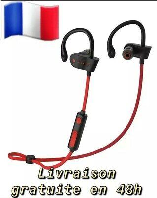 Écouteur samsung,iphone, Bluetooth,Casque Stéréo De Sport Étanche pour cycliste