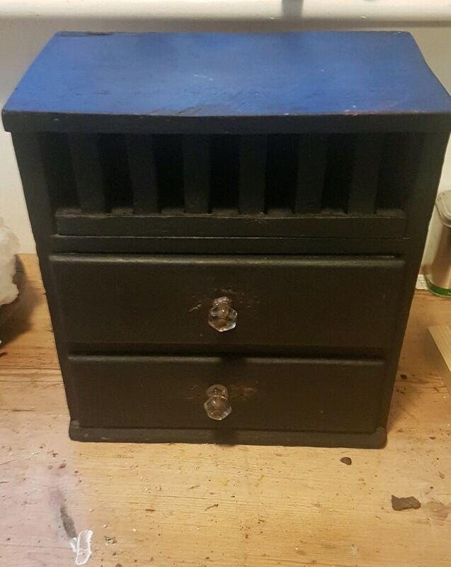 Victorian Ebonised Tool Box