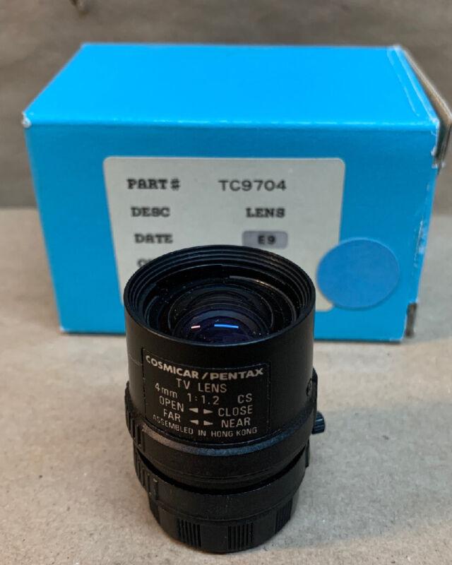 Cosmicar/Pentax Tv Lens 4mm 1:1.2 cs ~ NEW IN BOX