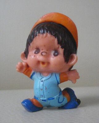 Figur Monchhichi Sekiguchi 1979  Comic Figur Baseballspieler