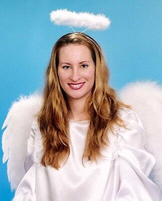 ANGEL WINGS & HALO for either HALLOWEEN or CHRISTMAS time
