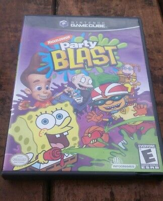 NICKELODEON  Jimmy Neutron  Party Blast both CIB - Jimmy Neutron Party