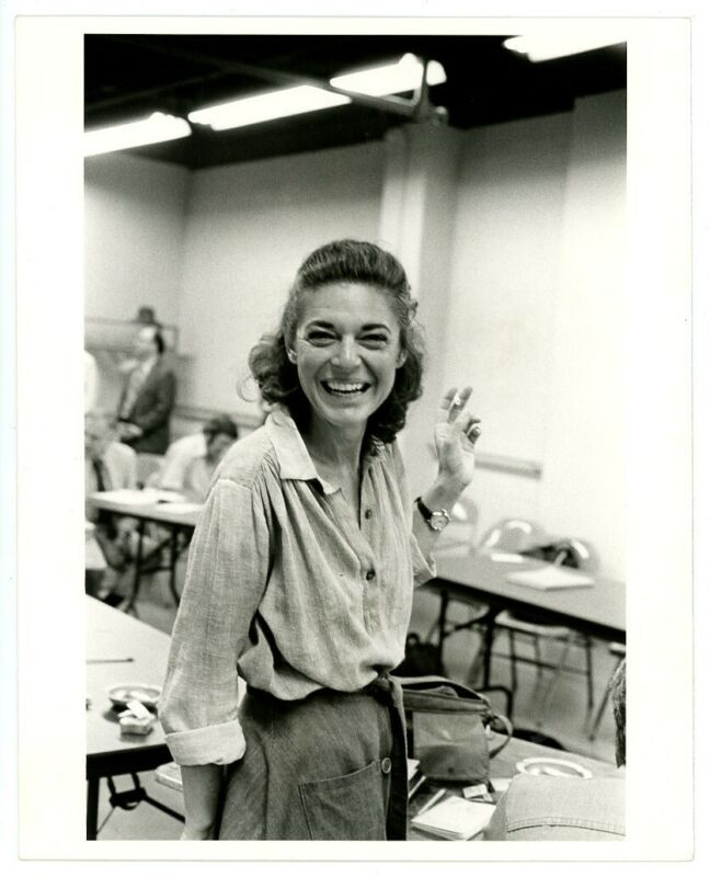ANNE BANCROFT original double weight candid movie photo 1970s