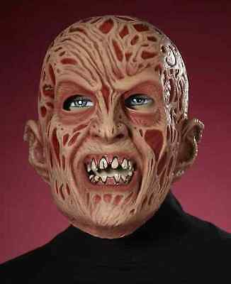 Freddy Krueger Mask A Nightmare on Elm Street Halloween Adult Costume Accessory (A Nightmare On Elm Street Costume)