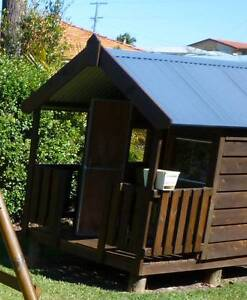 TImber Cubby House Stafford Heights Brisbane North West Preview