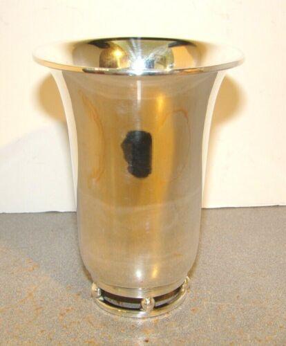 Tango Aceves Mexican Sterling Silver Modernist Vase Mint Julep Tumbler Beaker