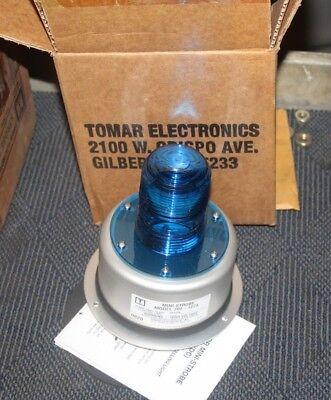 Tomar Electronics Strobe Light 700-1274 12vdc 1.25amps Blue Alc