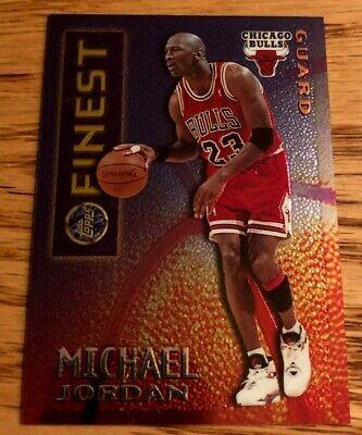 1995-96 Topps Finest Mystery Borderless Michael Jordan Card #M1