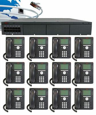 Avaya Ip Office - Ip500 V2 Digital Phone System Package W12 9508 Phones New