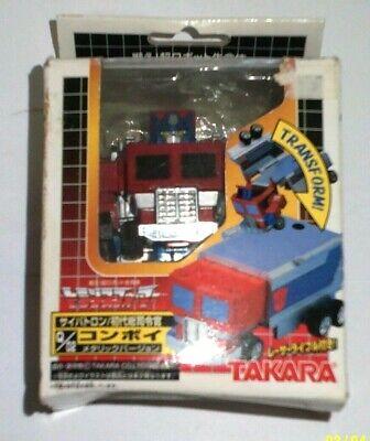 Transformers Choro Q Robo Takara Optimus Prime japan new open box