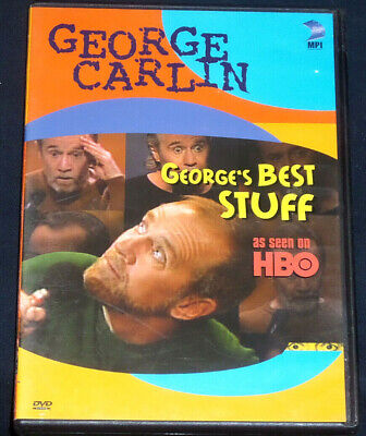 George Carlin: George's Best Stuff (DVD, HBO Video) Live Concert Authentic (Best Live Concert Dvds)