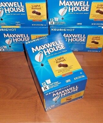 Maxwell House Master Blend Coffee, Light Roast Keurig 2.0 K-CUP Pods, 12 count