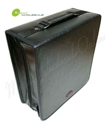 320 Discs Portable CD DVD Organizer Storage Koskin Wallet Holder Bag Case Album