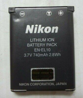 En El10 Rechargeable Battery (Genuine Nikon EN-EL10 Rechargeable Li-ion Battery   -2 )