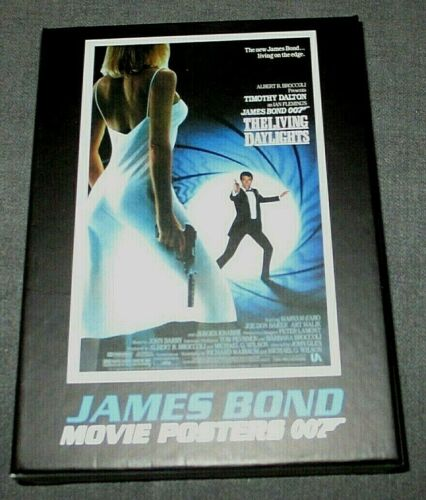 James Bond Movie Poster Postcards Featuring every Bond! Dr. No, Octopussy,