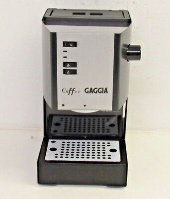 Refurbished Gaggia Coffee Gray Espresso Machine