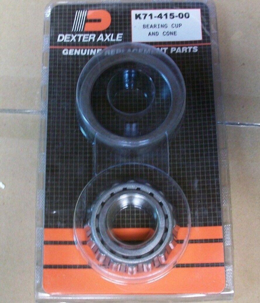 02475 02420 Axle Spindle Bearing & Race 7200# 7.2K Dexter Trailer Kit K71-415-00