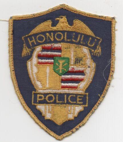 Vintage Obsolete Honolulu Hawaii Police Patch