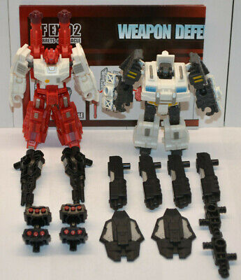 3rd party Transformers Iron Factory EX-02 Turrets & Manacle - Complete