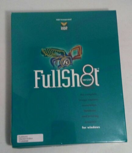 FullShot 8 Windows Image Capture Annotation Database Print Software 91-2003 CD