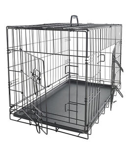 XXL dog cage 2 door with divider retails for $179 US