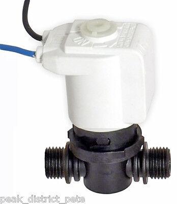Jabsco 12v Electroválvula para Marina Wc Ventilado Bucles 37068-2000