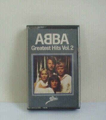 ABBA GREATEST HITS VOL 2 CASSETTE TAPE