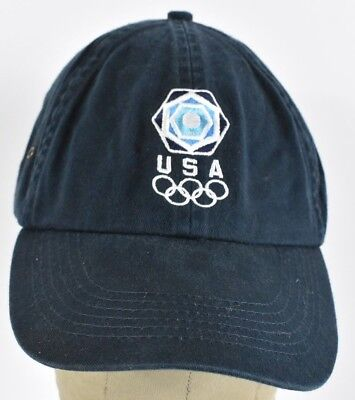 Navy Blue Embassy Suites Hotels Embroidered Baseball Hat Cap Adjustable Strap