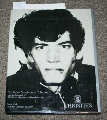 Christies New York The Robert Mapplethorpe  Collection October 31 1989 MINT gay