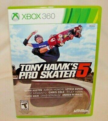 Tony Hawk's Pro Skater 5 (Xbox 360, 2015) *Used* Very Good!!!