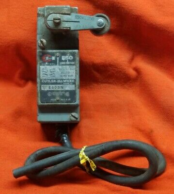 Sn Hammer (Used CUTLER HAMMER E50sn FRONT MOUNT LIMIT SWITCH )