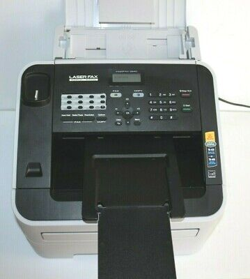 Brother Intellifax 2840 Fax-2840 Printer Fax Machine Missing Phone For Fax