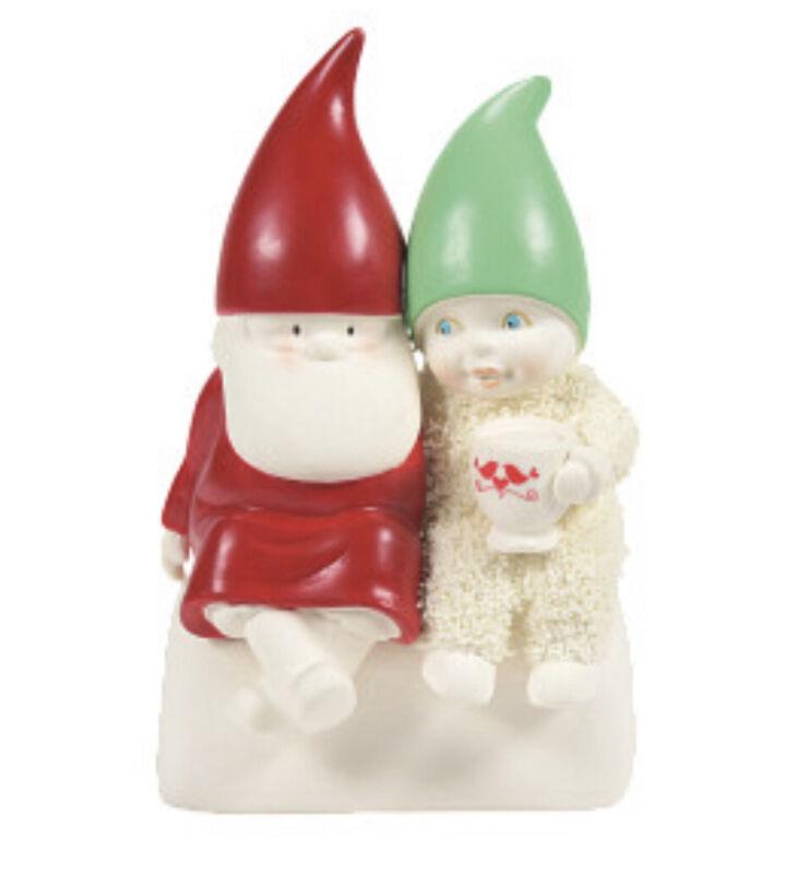 "Dept 56 Classic Snowbabies You Gnome me so Well Christmas Figurine 4.72""H NIB"