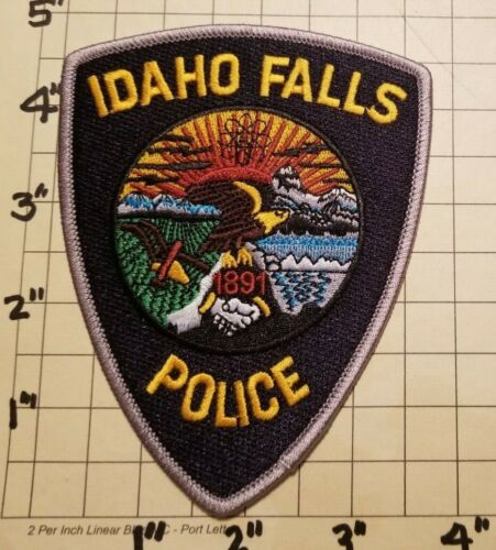 Idaho Falls (ID) Police Department Patch w/ Presentation Card      ***NEW***