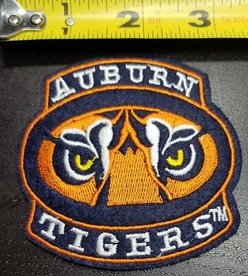 Auburn Tigers 3  Embroidered Iron Sew On Patch Free Shipping From The U S