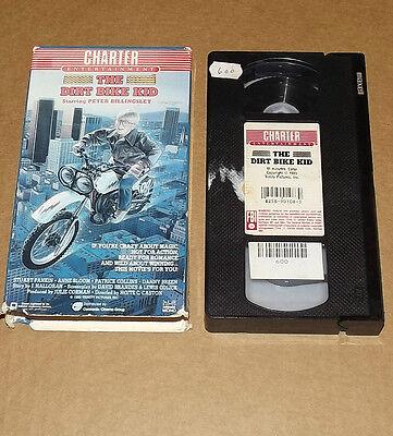 The Dirt Bike Kid (VHS, 1986)