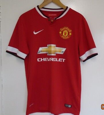 Manchester United FOOTBALL SHIRT, NUMBER 7, DI MARIA, SIZE ADULT SMALL