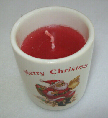"""RUSS Wax-Filled Votive """"Dreams Come True At Christmas"""""""